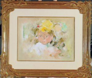 Akio Matsumura Child Lonely girl