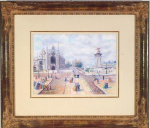 Claude H Pissaro Le Pont Alexandre III Exposition Univ.
