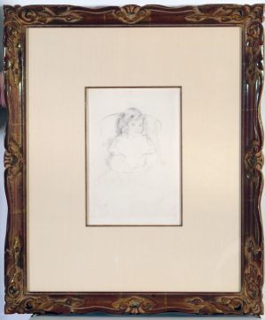 Mary  Cassatt Stevenson Sara Smiling