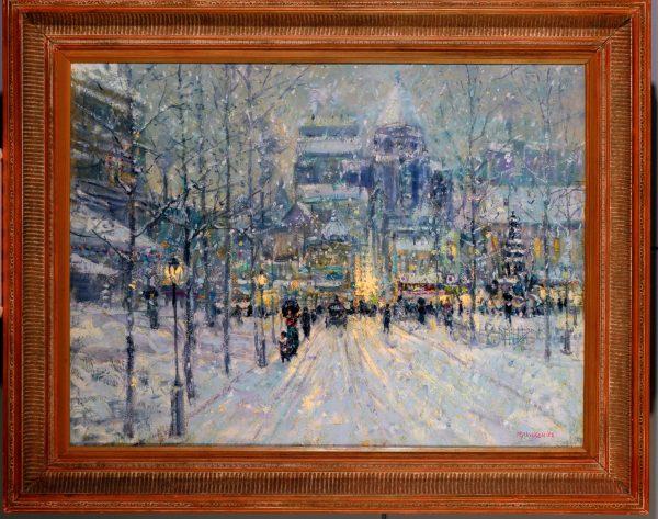 Tom Perkinson Winter Snow Scean
